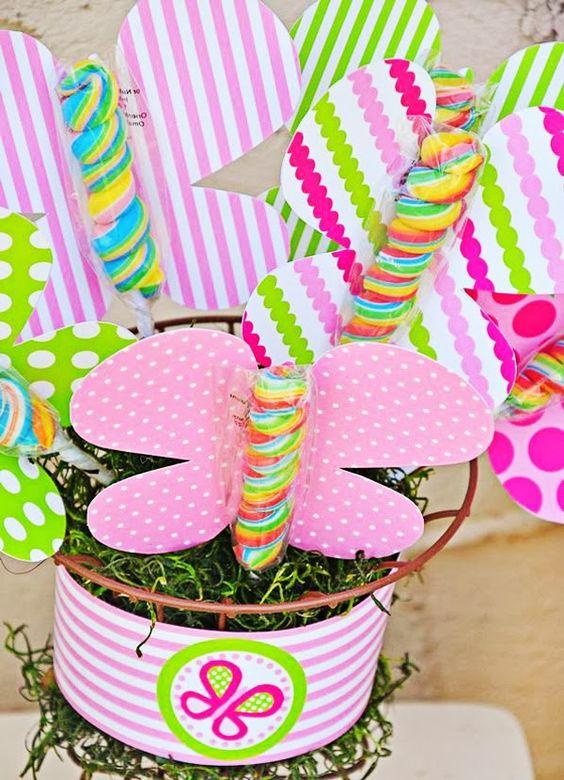 Candy bar: un jardín de chuches