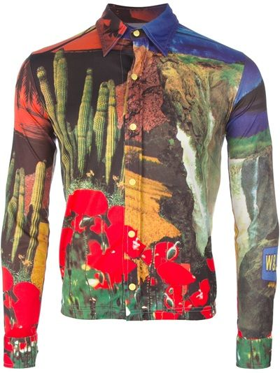 WALTER VAN BEIRENDONCK VINTAGE Camisa Vintage Estampada.
