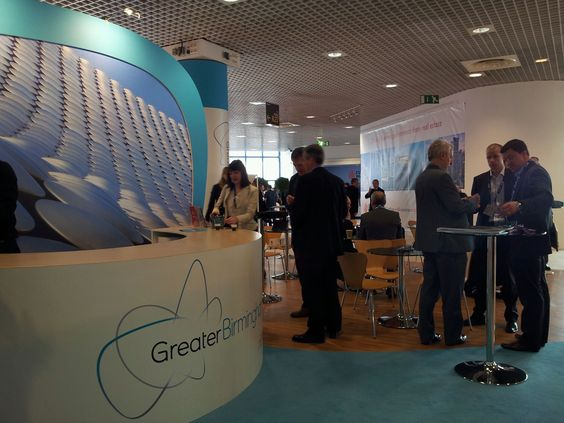 Another image live form our Greater Birmingham stand on Day 1 at #MIPIM2014