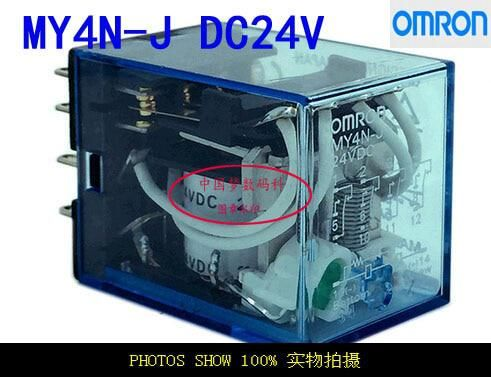 2pcs Small Relay Omron My4n J My4nj 24v Dc 5a Us 7 71 Graphic Card Electrical Equipment Relay