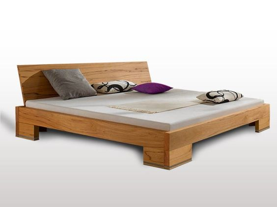 A Wooden Bed Design  Bedroom Designs Gorgeous Oak Simple Solid - dream massivholzbett ign design
