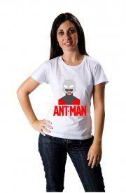 Camiseta Ant-Man, Homem Formiga,algodão, Tamanhos e Cores Variados, Unissex.