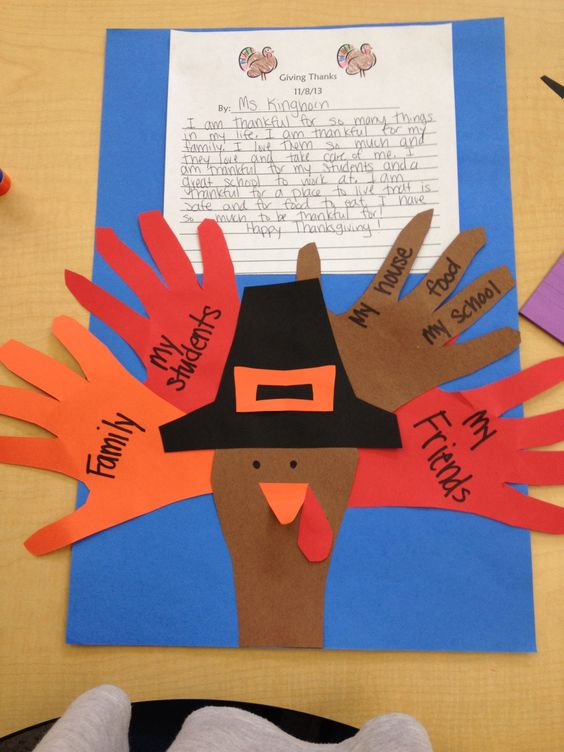 Another cute activity to do with the kids on Thanksgiving :)