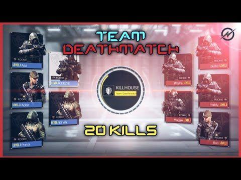Team Deathmatch Gameplay Call Of Duty Legends Of War Youtube Mobile Legends Gameplay War