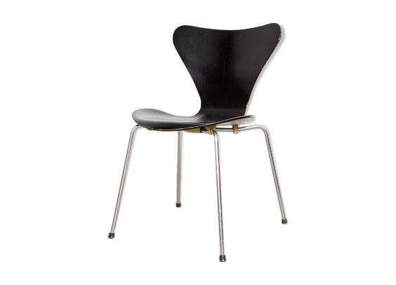 Epingle Sur Chaises Modele 3107 De Arne Jacobsen
