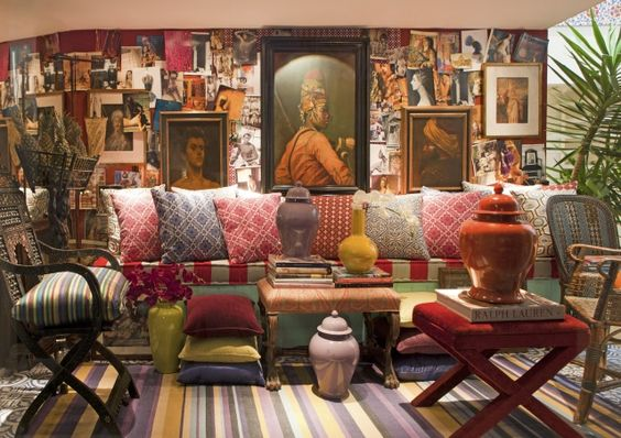 Interior design by Sig Bergamin.: