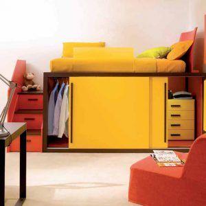 Design Hochbetten für Kinder - Modern und funktional - Schöne Farben für Jungen und Mädchen. - Entdecken Sie ein neues Kindermöbelkonzept bei MOBIMIO.