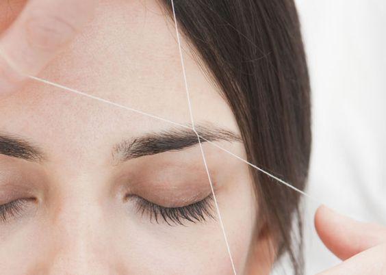 Le eyebrow threading, c'est quoi?