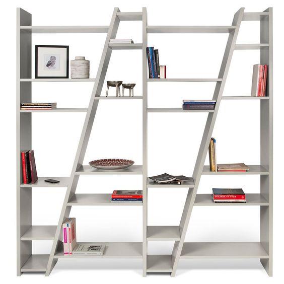 Tema Furniture Delta Composition Open Back Decorative Bookcase - 9500.315336