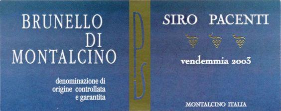 Siro Pacenti Brunello