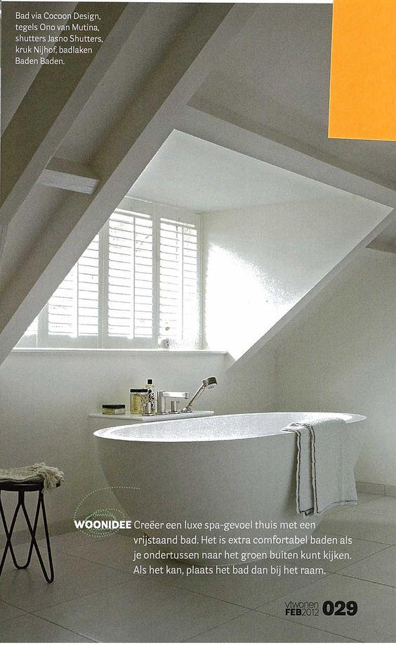 dakkapel met louvres  Noordsingel inspiration  Pinterest  Met, Bathroom an # Wasbak Zolder_223946