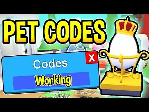 Watch The Video New Adopt Me Codes New Pets Update Roblox On