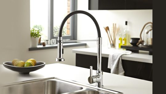 The \'Liquorice\' Professional Kitchen Sink Tap from Bristan ...