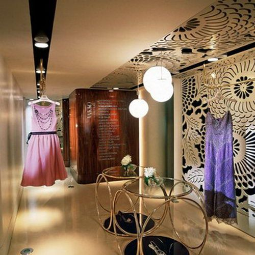 Fashion store design store design and couture fashion on for Interior designs for boutique shops