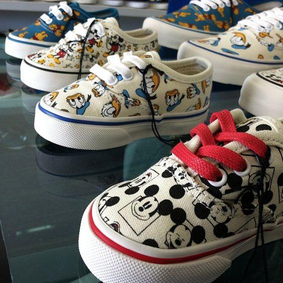 Vans Vault X Disney Retro Collection