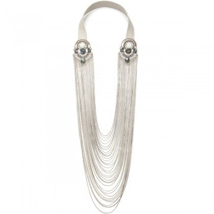 *Our Pick* Wear with a low plunge gown or even a boy beater...Just love this Sophia Chez Drape Necklace whatever you do