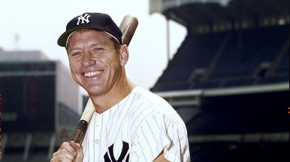 a biography of mickey charles mantle a baseball player Mickey charles mantle, nicknamed the commerce comet or the mick, was an american professional baseball player he was a major league baseball centerfielder and.