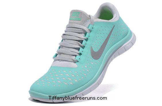 Nike Free 3.0 V4 Blue White Silver