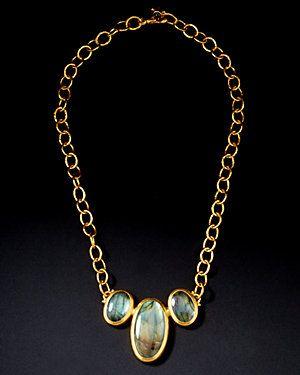 GURHAN 'Labyrinth' 24K Gemstone Pendant
