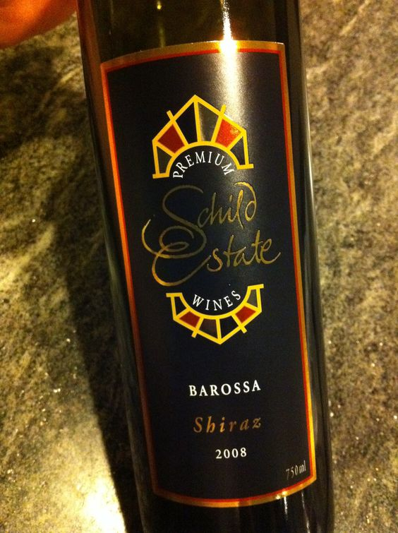 Schild Estate Shiraz 2008. One of my all time favourite reds.
