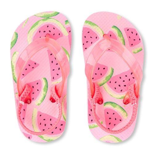 Toddler Girls Watermelon Flip Flop