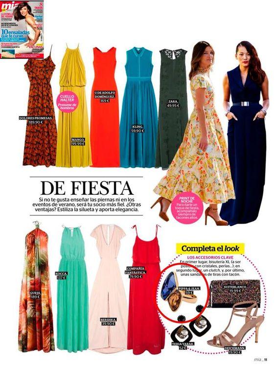¡Aparición de Pippa&Jean en la revista MIA SPAIN! #moda #modamujer #prensa #joyas #bisuteria #pippajeans #pippaandjeans #revista #periodico #tv