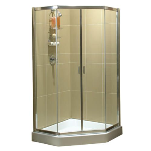 36 Neo Angle Shower Door At Menards Building House