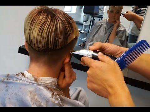 I Want An Ultra Short Haircut For The Summer Youtube Friseurin Friseur Bei Der Arbeit