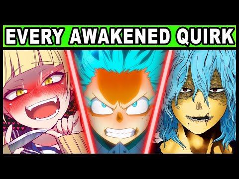 Strongest Quirks That Changed Over Time My Hero Academia Boku No Hero Awakened Quirk Ranking Youtube My Hero My Hero Academia Attack On Titan Season