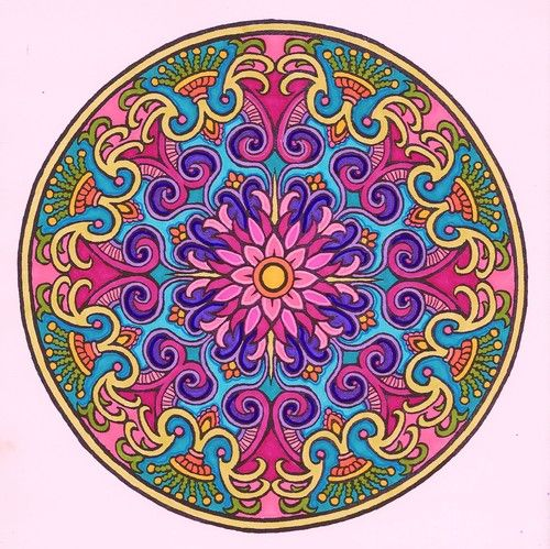 Customer Image Gallery For Mystical Mandala Coloring Book
