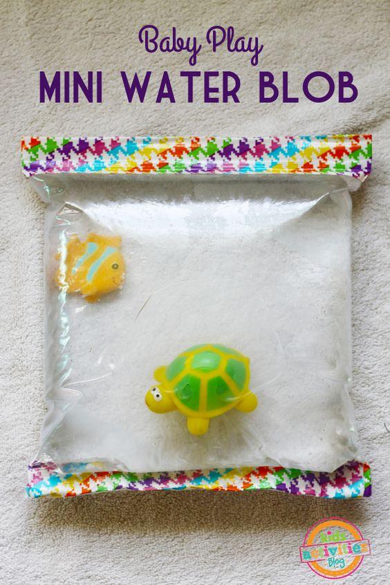 Fabriquer un mini matelas d 39 eau pour b b toys to remove and sensory - Fabriquer un matelas futon ...