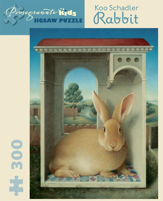 Pomegranate Schradler: Rabbit 300-piece Jigsaw Puzzle