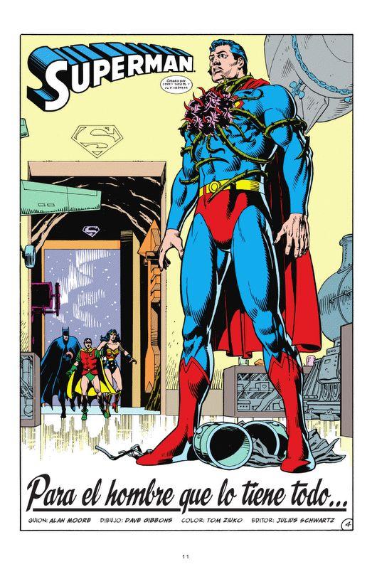 El universo DC de Alan Moore #Superman
