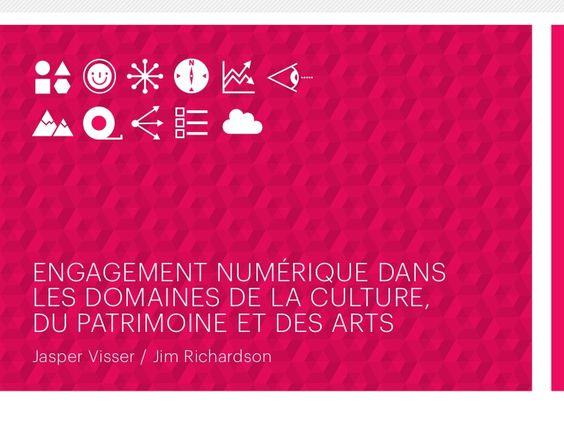 Engagement numérique dans les domaines de la culture, du patrimoine e…