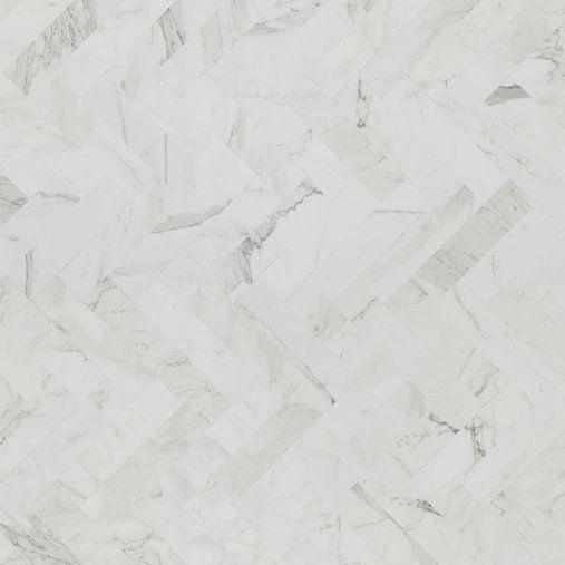 Formica Laminate White Marble Herringbone For A Farmhouse Style