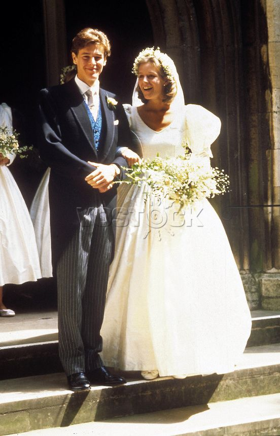 Królewskie Śluby - James Ogilvy i Julia Rawlinson.