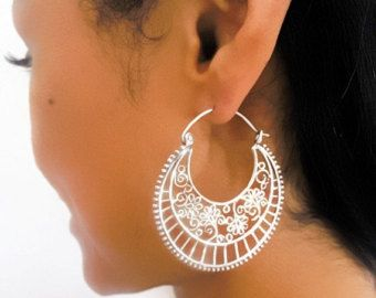 ON SALE 15% OFF Silver Earrings Silver Spiral by RONIBIZA on Etsy