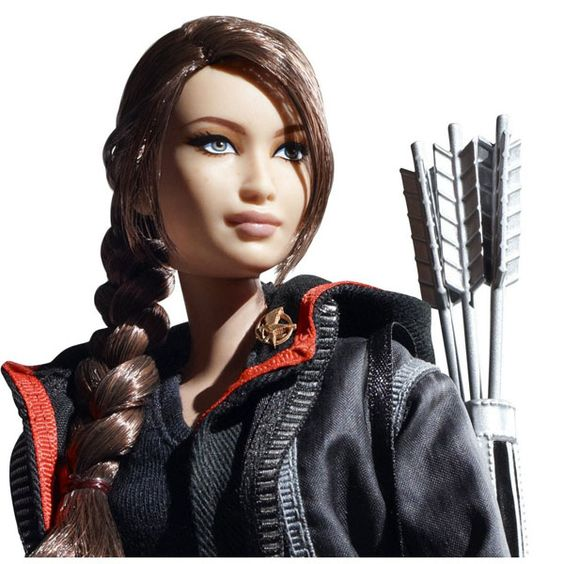 Hunger Games Barbie. Not sure how I feel about this.