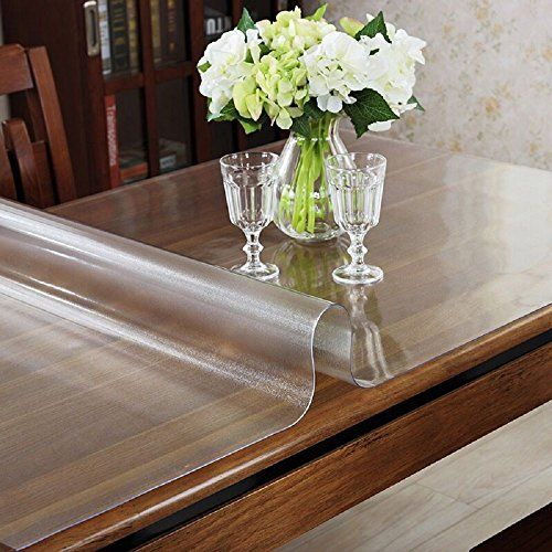 Ostepdecor Custom 2mm Thick Frosted Table Cover Glass Top Protector Kitchen Dining Room Wood Furniture P Wood Dining Room Wood Dining Room Table Plastic Tables