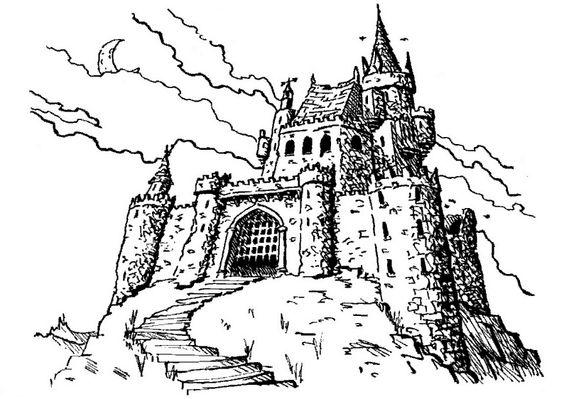 Coloriage Chateau !