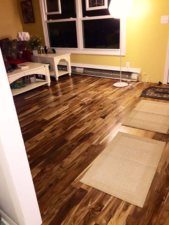 My wife and i are very very happy with our new floor it for Bellawood hardwood floors