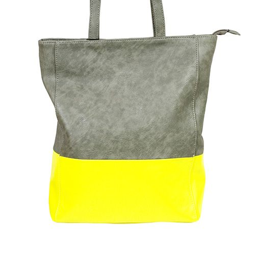 // Street Level Color Block Tote