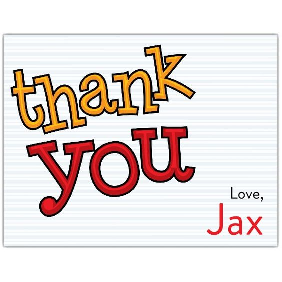 The Big One Thank You Note Cards