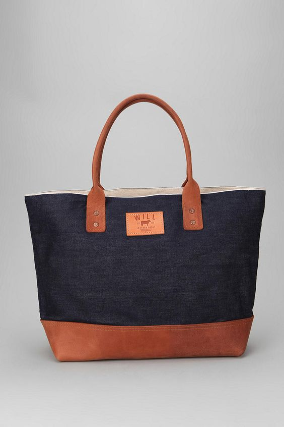 Will Leather Goods Utility Tote Bag