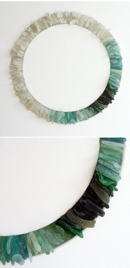 DIY Inspiration - For all of that sea glass!