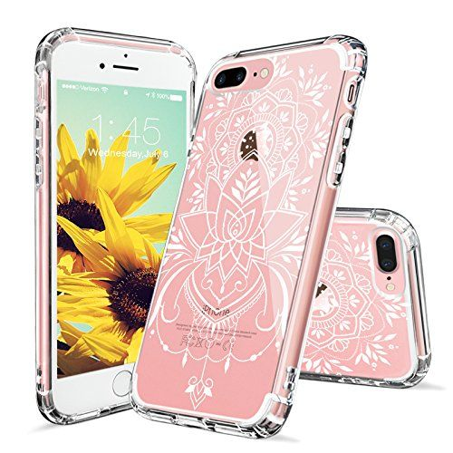 Iphone 7 Plus Case Iphone 8 Plus Case Mosnovo White Henna Mandala Tattoo Pattern Clear Design Transparent Back With Iphone 7 Plus Cases Iphone Iphone 7 Cases