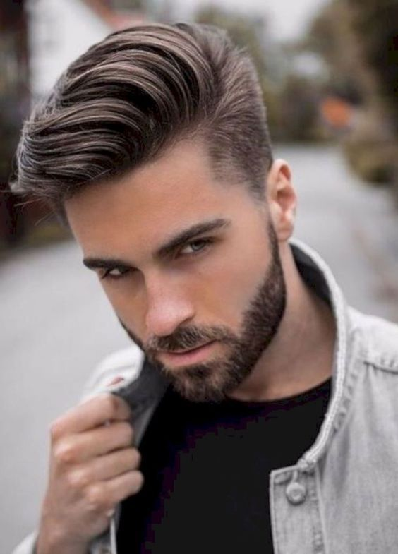 Quiff With Beard Mens Hairstyles Medium Long Hair Styles Men Trendy Mens Hairstyles