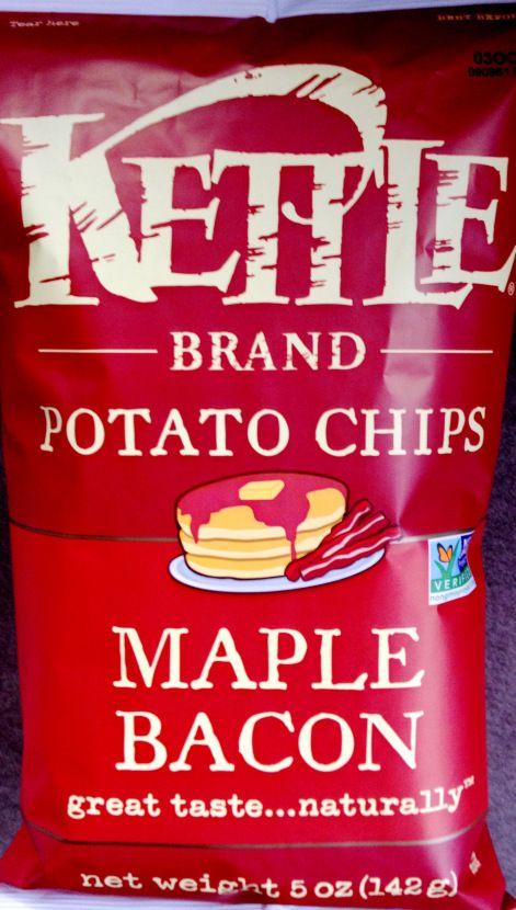 Kettle Brand - Maple Bacon Potato Chips