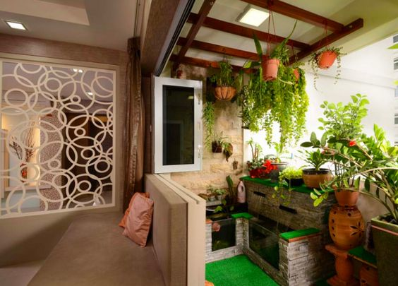 The smart local 15 beautiful hdb apartments go green for Balcony ideas singapore