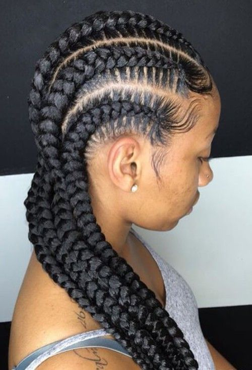 50 Mega Natural Hairstyles Pack For Black Women Feed In Braids